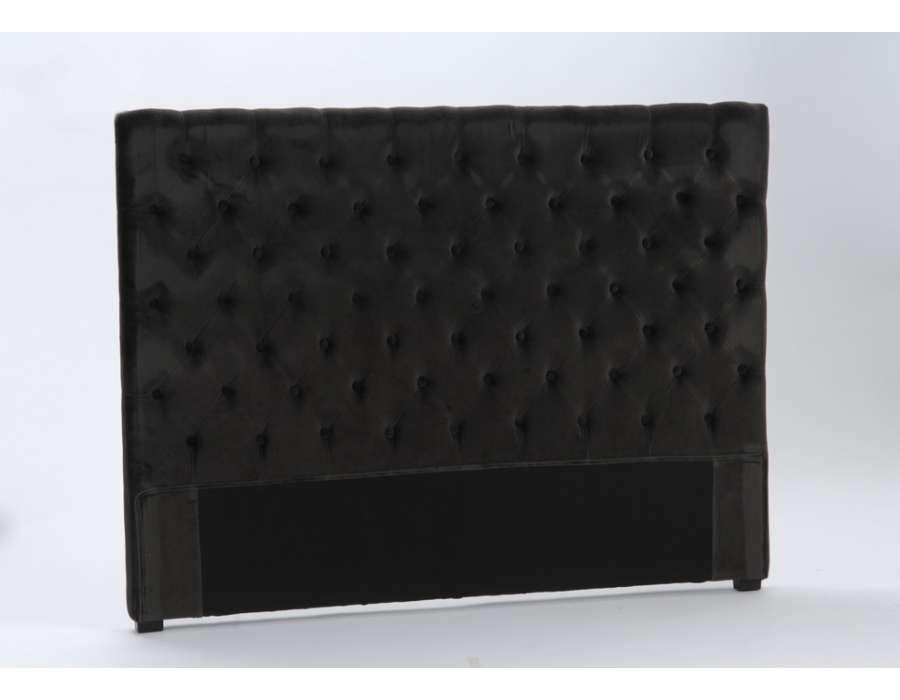 tete de lit 160 cm gris id e inspirante pour la conception de la maison. Black Bedroom Furniture Sets. Home Design Ideas