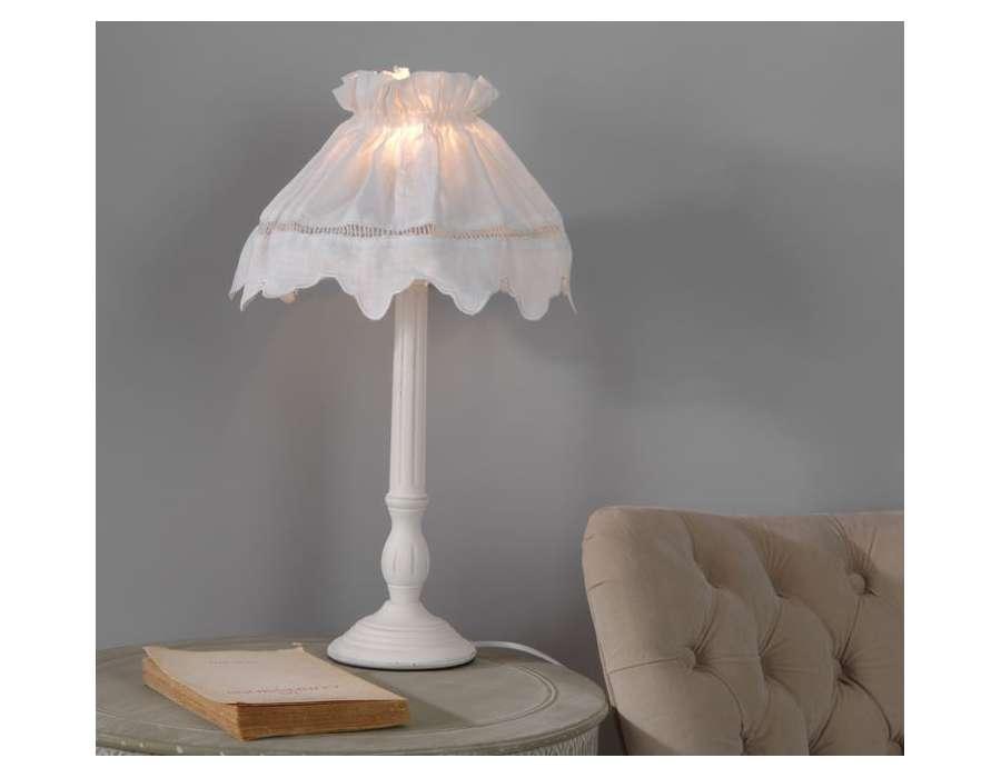 Lampe de chevet blanche st rémy livraison offerte possibilité de