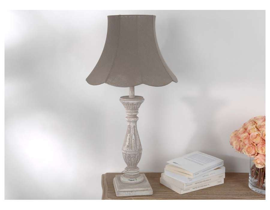 Lampe sur pied de salon for Table pour lampe de salon
