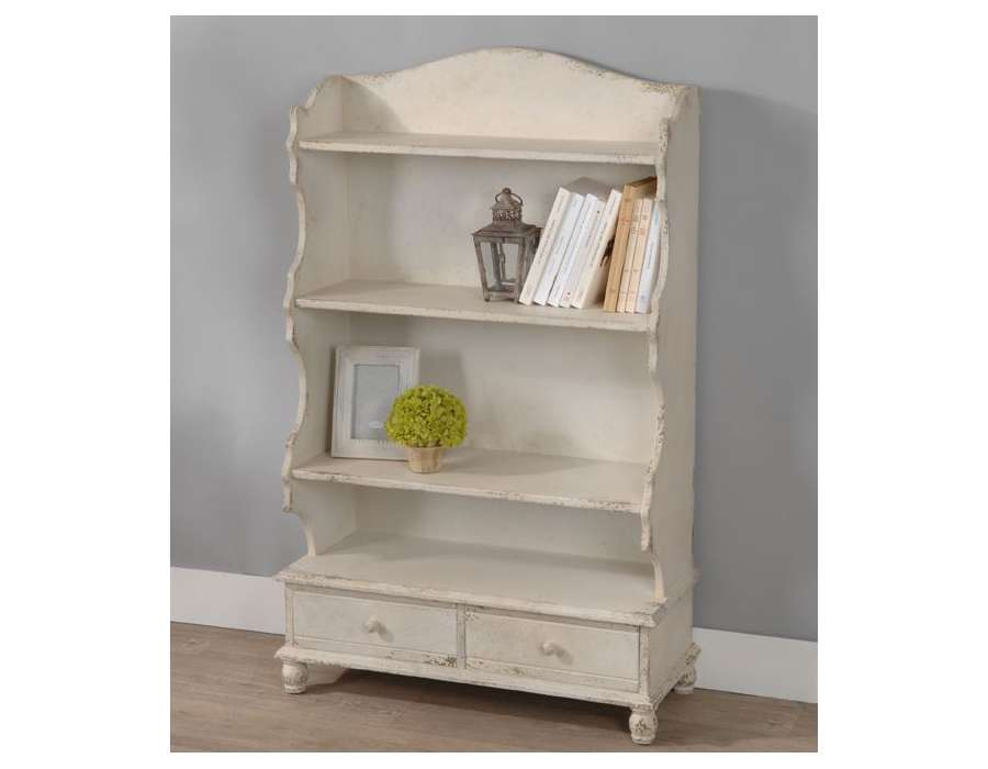 biblioth que bibliotheque basse blanche pictures to pin on pinterest. Black Bedroom Furniture Sets. Home Design Ideas