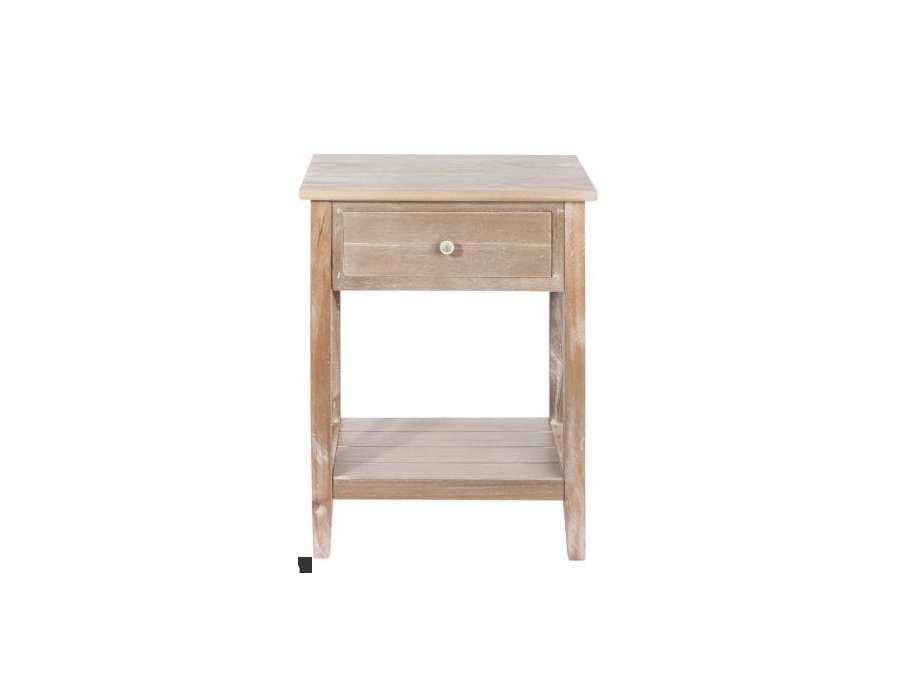table de nuit bois flott. Black Bedroom Furniture Sets. Home Design Ideas