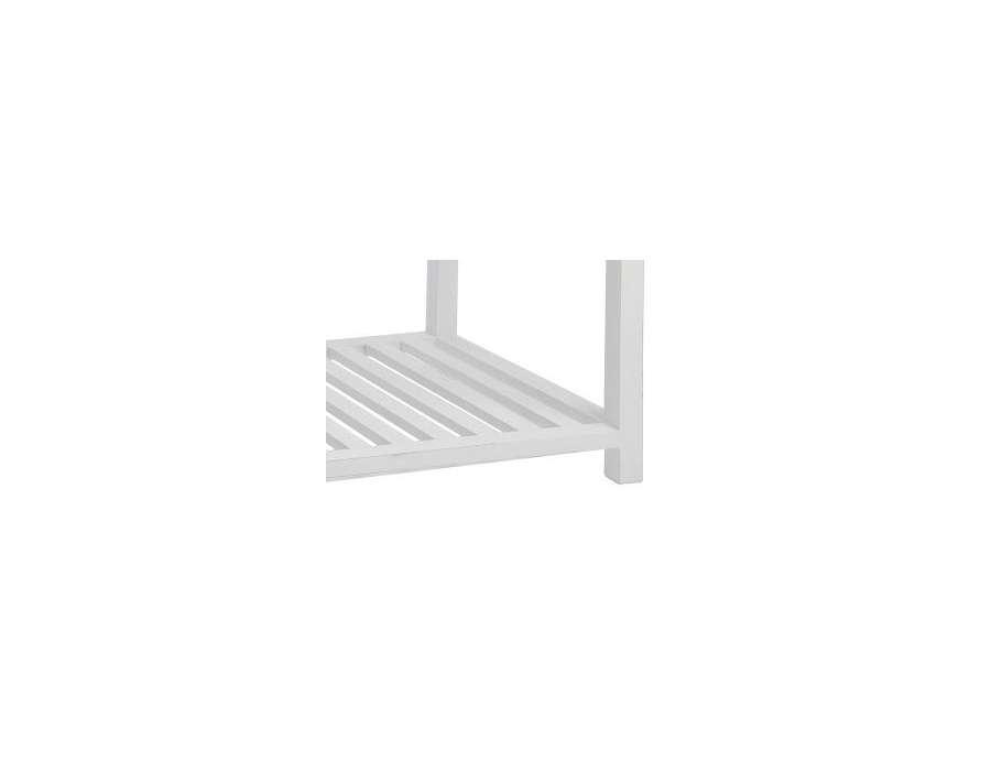 Table basse bois blanc et verre prix int ressant - Table basse bois blanc et verre ...