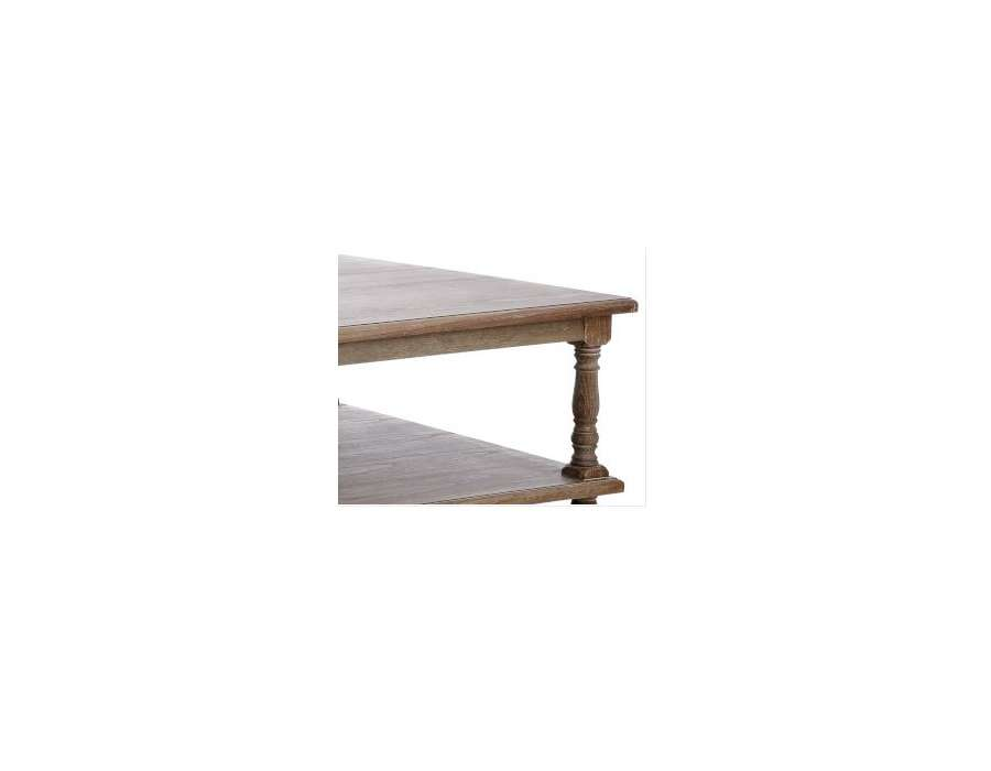Table basse en bois rustique for Table basse en bois naturel