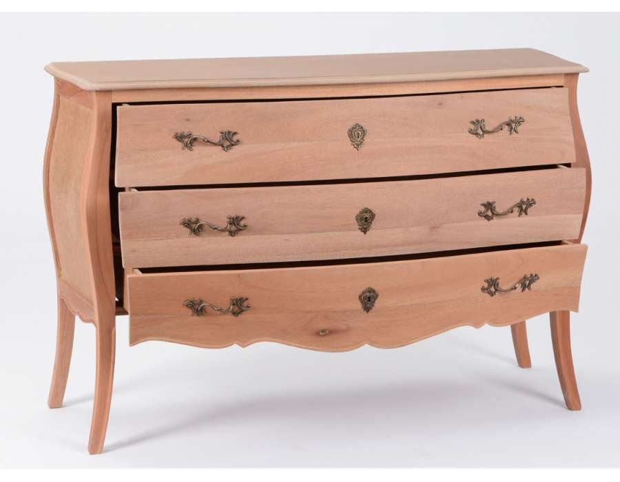 Commode Bois Brut Tarva  Drawer Chest Ikea Emejing Plateau