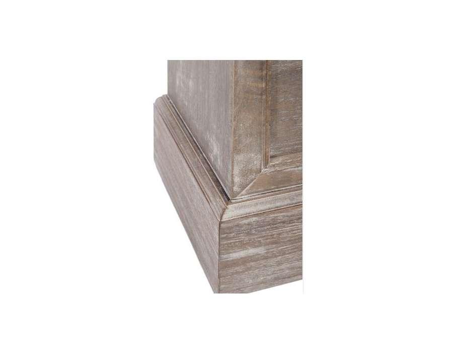 Tag re troite bois c rus en colonne avec tiroir pas chere - Etagere murale pas chere ...