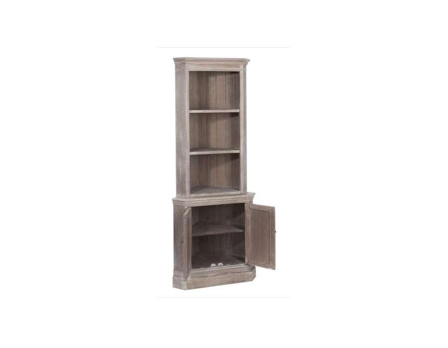 Tag re d 39 angle bois c rus pas chere for Peindre etagere bois