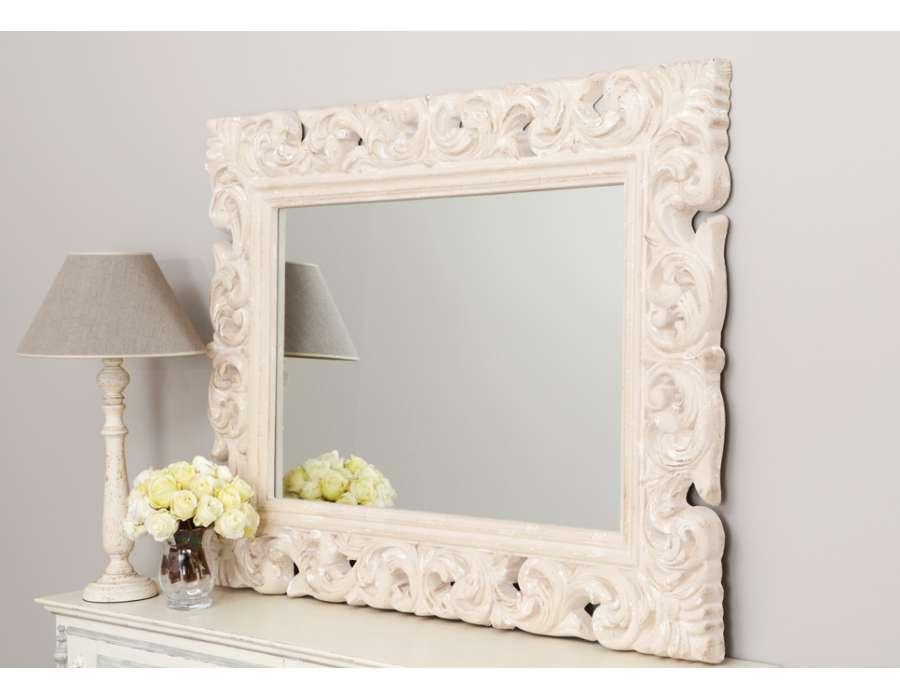 Cat gorie miroir page 22 du guide et comparateur d 39 achat for Miroir baroque conforama