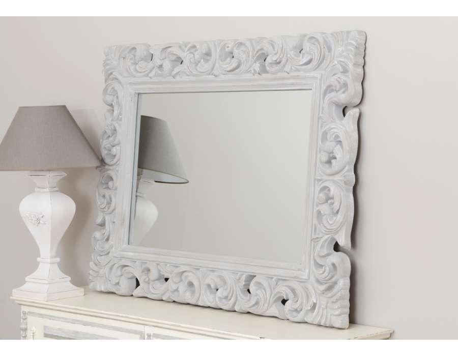 Cat gorie miroir page 17 du guide et comparateur d 39 achat for Miroir baroque gris