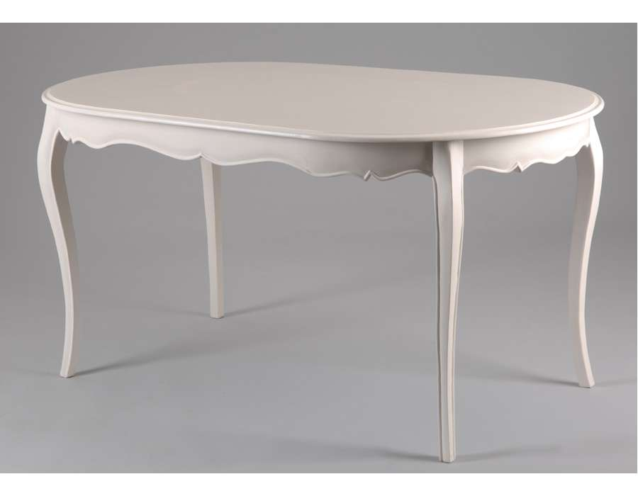 Table ovale 6 personnes pas chere - Table ovale blanche ...