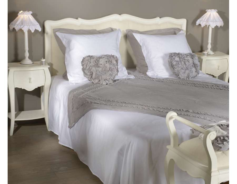 Table de nuit baroque blanche 1 tiroir - Table de chevet baroque blanche ...