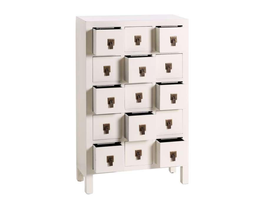 meule tiroirs chinois blanc pas chere. Black Bedroom Furniture Sets. Home Design Ideas