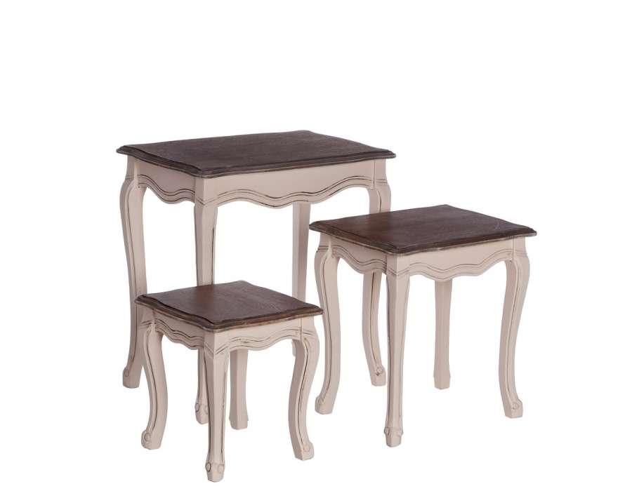 Prix des table gigogne 6 - Set de table baroque ...