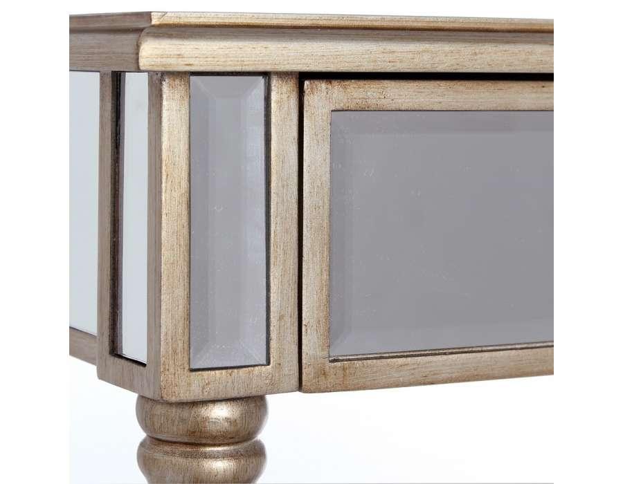 Pin Table De Nuit Chevet Commode Baroque En Bois Dor Avec
