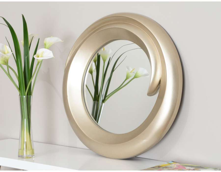 miroir design rond id es novatrices de la conception et du mobilier de maison. Black Bedroom Furniture Sets. Home Design Ideas