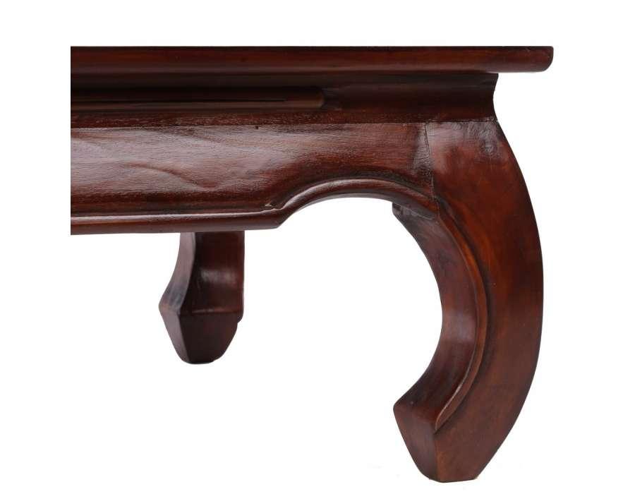 Table Basse Style Anglais Acajou Crafts