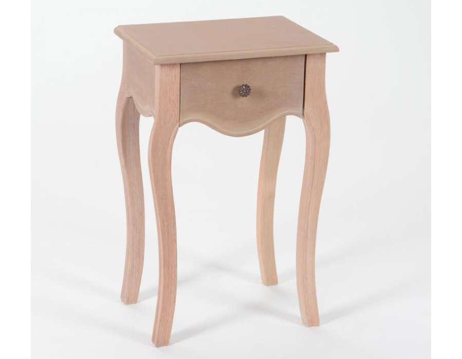 Prix des meuble chambre 126 - Table de nuit a peindre ...