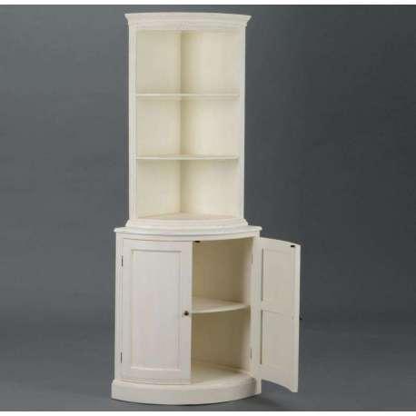 vaisselier angle blanc avec etag re et buffet blanc pas cher. Black Bedroom Furniture Sets. Home Design Ideas