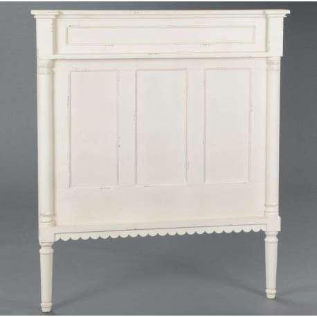 chambre bois blanc vieilli. Black Bedroom Furniture Sets. Home Design Ideas