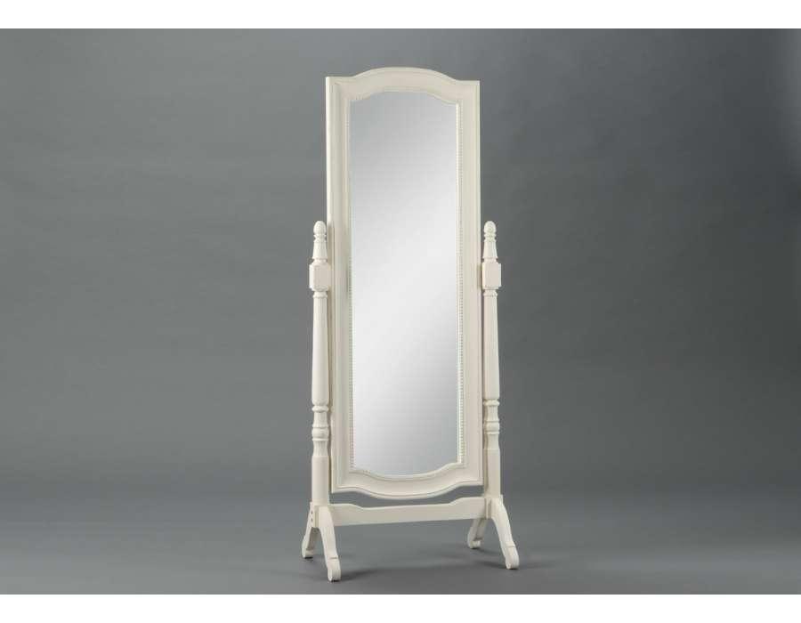 Cat gorie miroir page 15 du guide et comparateur d 39 achat - Miroir sur pied blanc ...