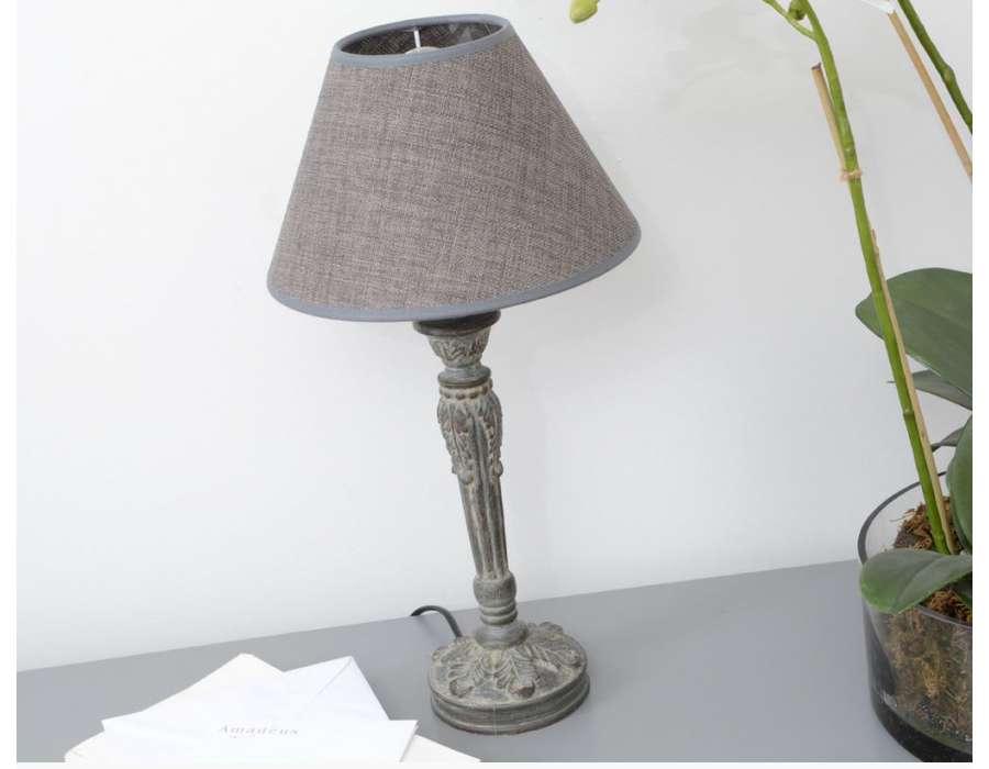 Prix des lampe poser 1 for Lampe de chevet grise