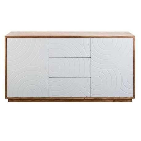 Buffets bas contemporains meubles et d coration amadeus au grenier de juliette - Buffet bois et blanc laque ...
