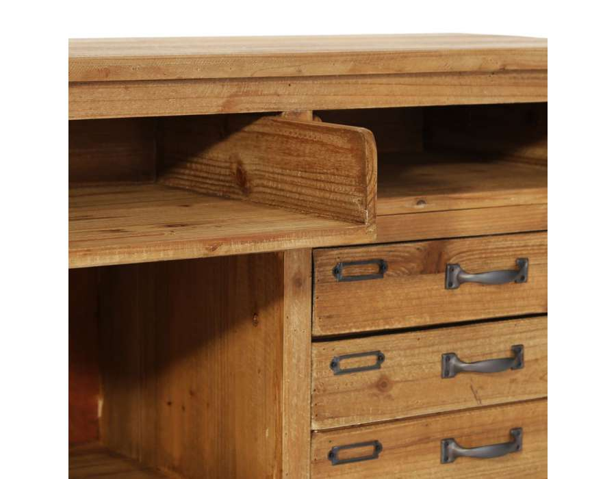 meuble bois industriel. Black Bedroom Furniture Sets. Home Design Ideas