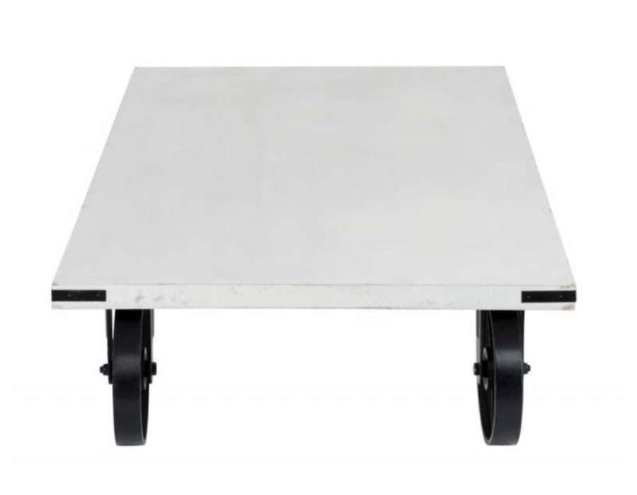 table basse en verre sur roues. Black Bedroom Furniture Sets. Home Design Ideas