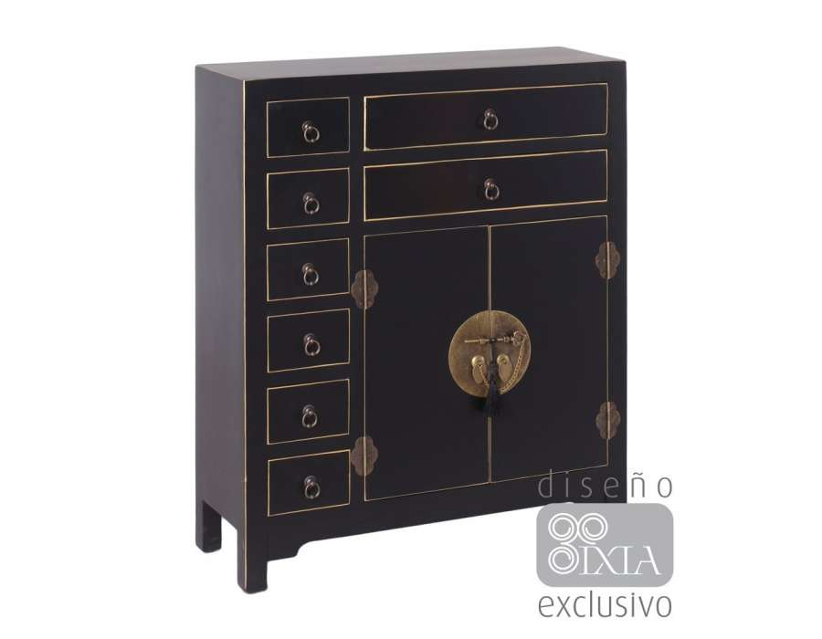 meuble appint chinois noir meuble chinois pas cher. Black Bedroom Furniture Sets. Home Design Ideas