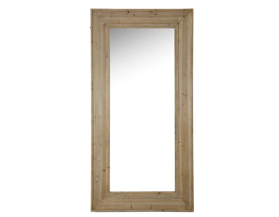 Grand miroir fenetre grand miroir croisillons blanc for Grand miroir fenetre
