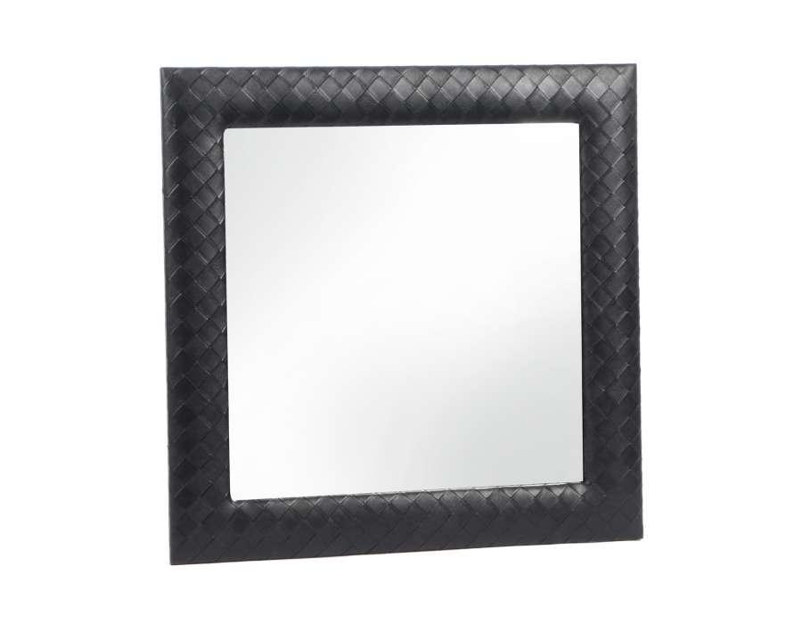 Prix des miroir 16 for Miroir carre noir