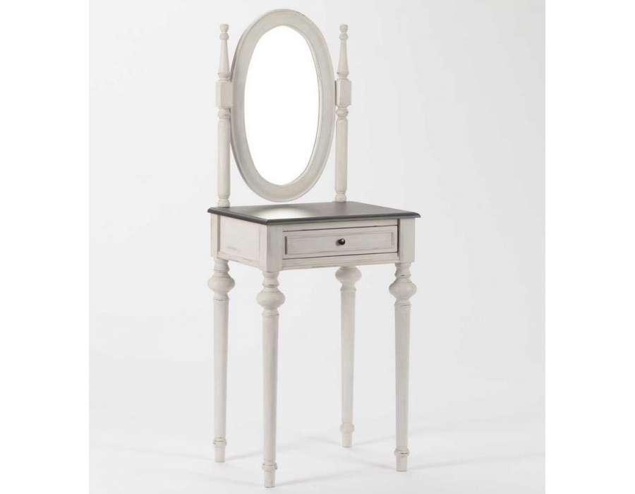 Prix des meuble coiffeuse 3 for Coiffeuse noire avec miroir