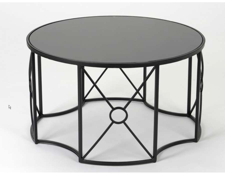 Prix des table basse 53 - Table salon noire ...