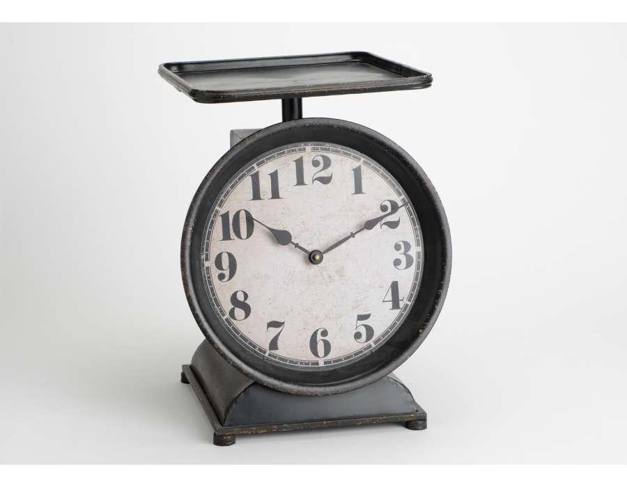 Horloge horloge de cuisine 1 for Horloge inox cuisine
