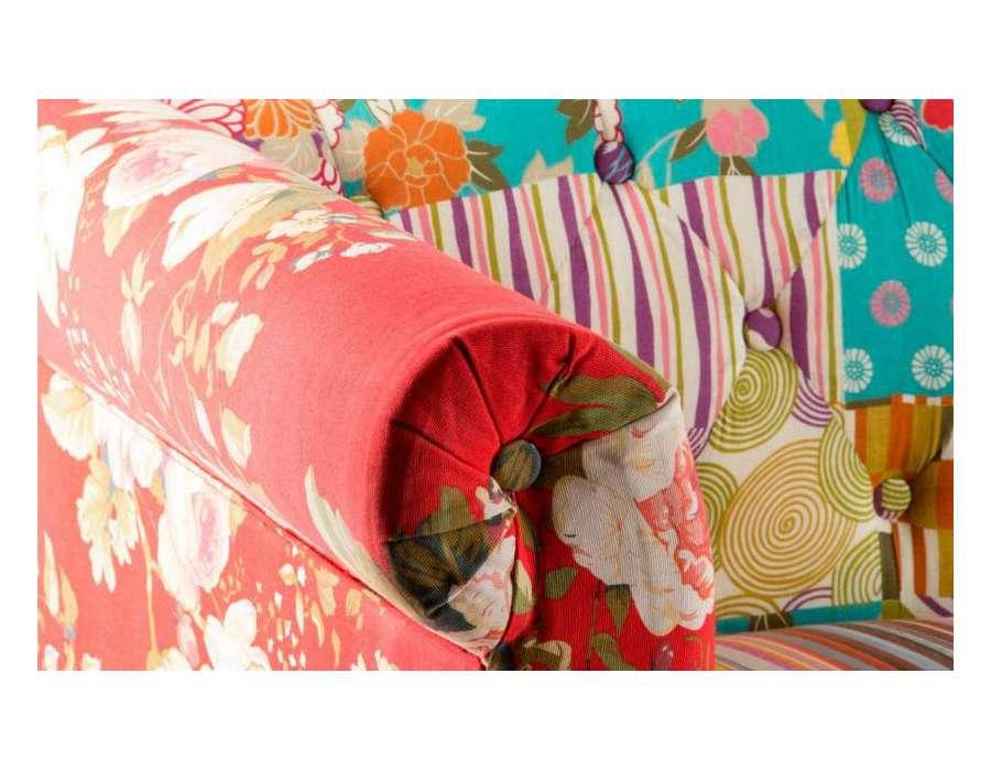 canap baroque color tapisserie - Canape Colore