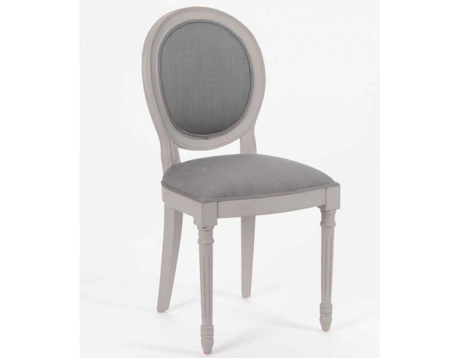 Chaise for Chaise dsw grise