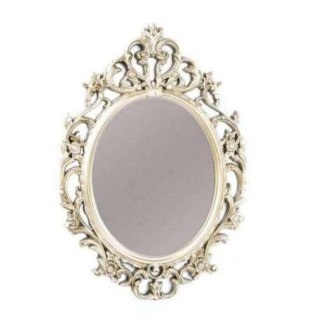 Miroir baroque dor pas cher 60 cm - Miroir baroque blanc pas cher ...