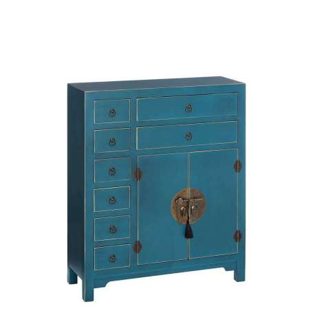 meuble appoint chinois bleu ancien meuble chinois pas cher. Black Bedroom Furniture Sets. Home Design Ideas