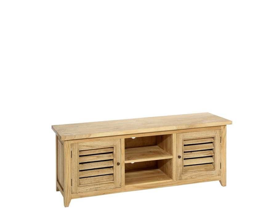 meuble en bois naturel