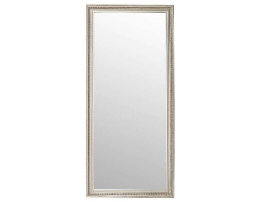 Grand miroir rectangulaire maison design for Grand miroir gris