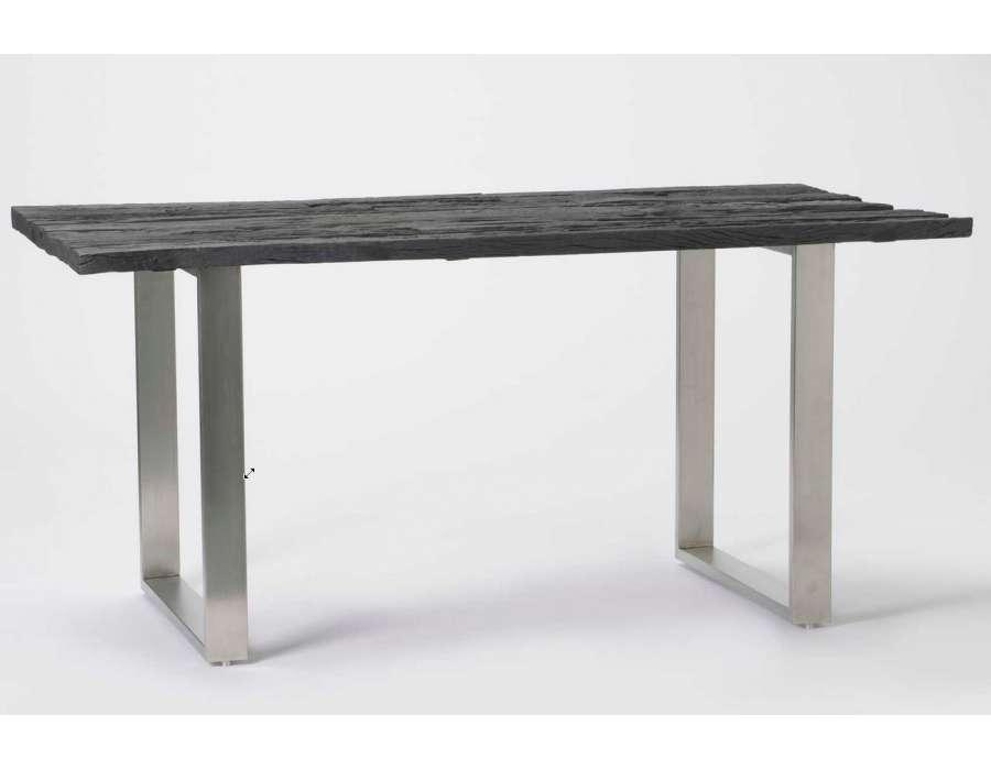 table salle a manger bois ronde. Black Bedroom Furniture Sets. Home Design Ideas