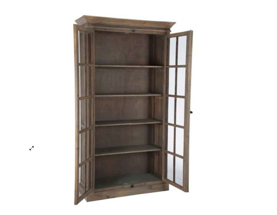 garde manger bois ancien proven al. Black Bedroom Furniture Sets. Home Design Ideas