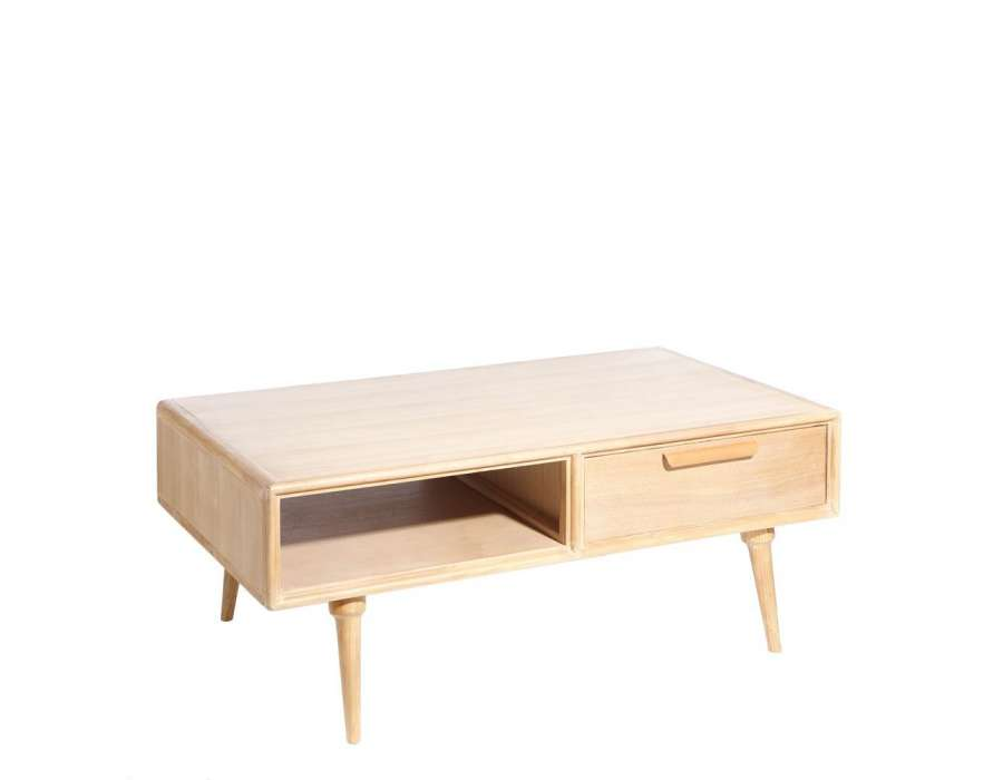 Table basse but oslo for Table basse scandinave bois