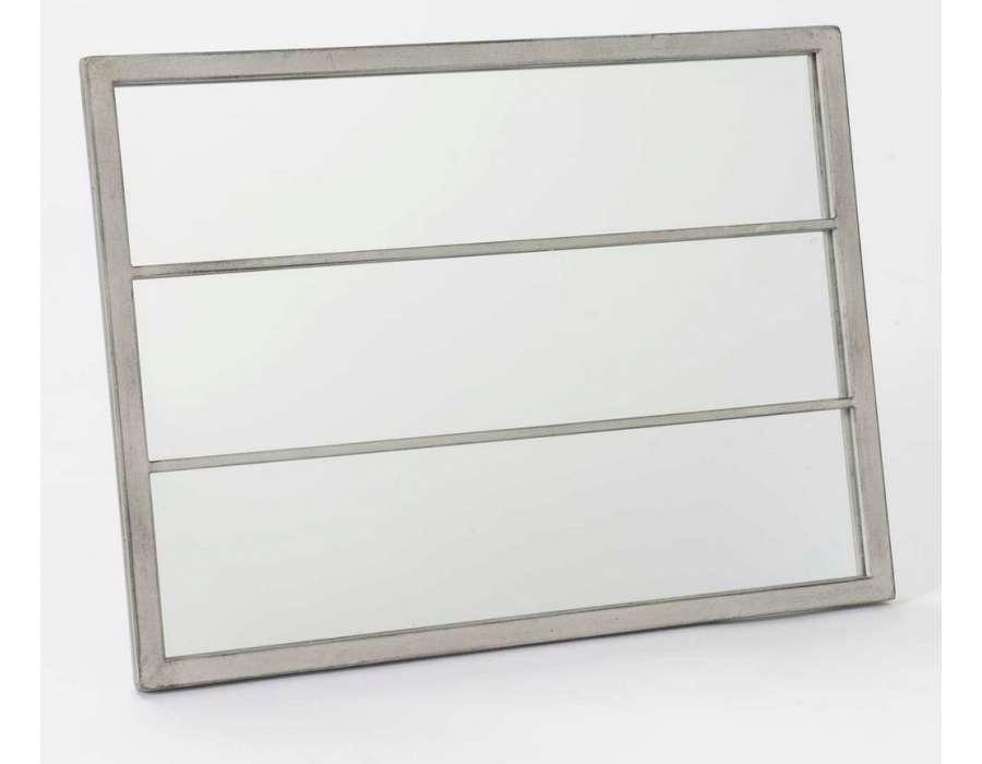 Miroir orangerie bois for Miroir orangerie