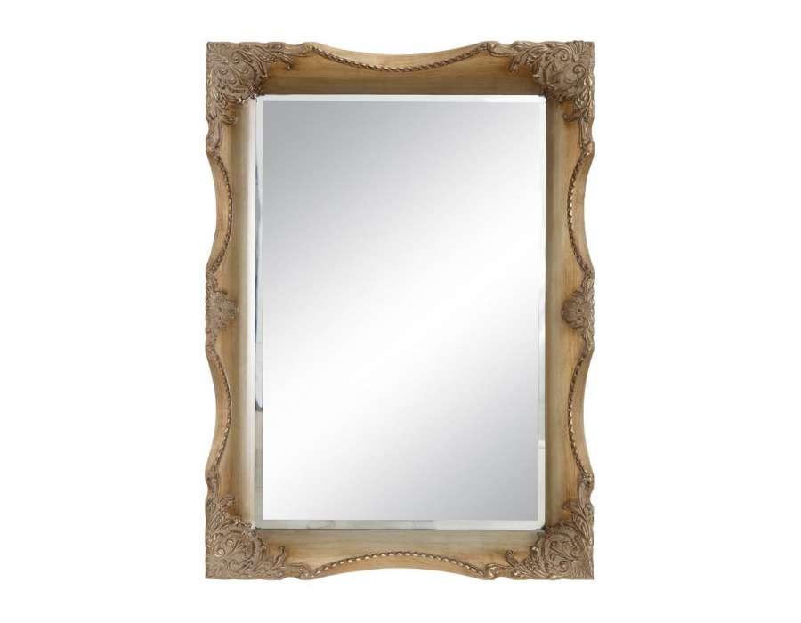 Miroir baroque dor sculpt pas cher for Miroir baroque pas cher