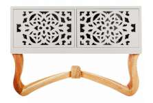 Petit buffet blanc design vical home