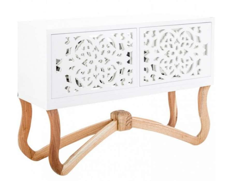 petit buffet blanc design buffet blanc moderne vical home. Black Bedroom Furniture Sets. Home Design Ideas