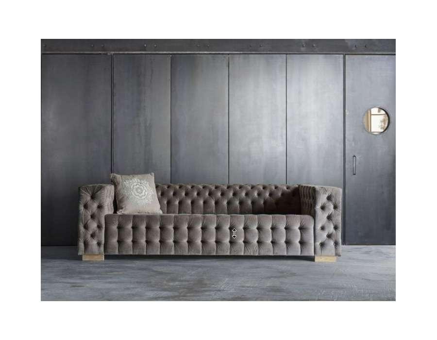canape capitonne velours maison design. Black Bedroom Furniture Sets. Home Design Ideas