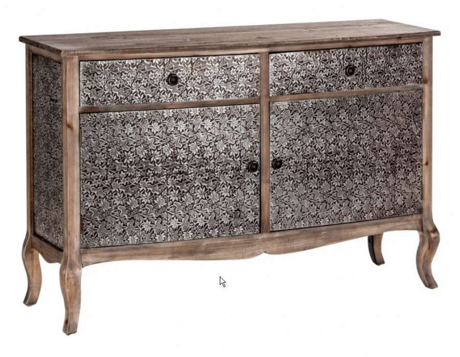 Buffet argent baroque vical home - Buffet style baroque ...