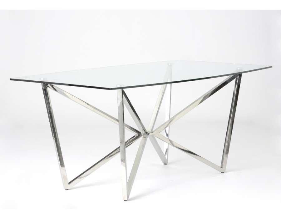 Grenier guide d 39 achat for Grande table en verre