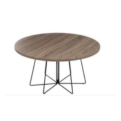 Table salon retro design jolipa pas prix - Table ronde design scandinave ...